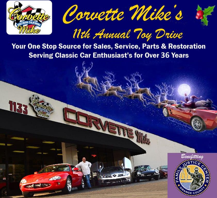 Corvette Mike Car Show & Toy Drive