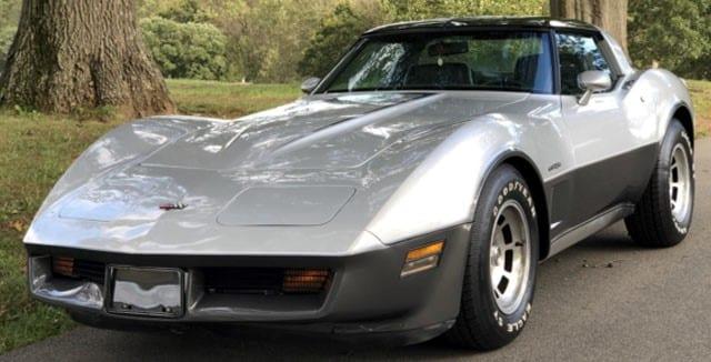 1982 Corvette Coupe Silver