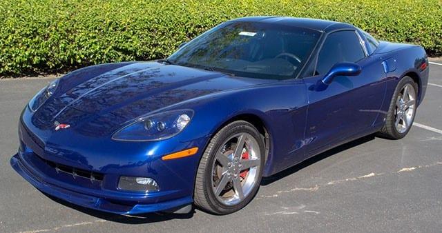 2005 Corvette Blue