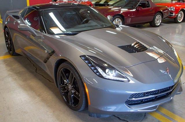 2015 Gray Corvette Coupe
