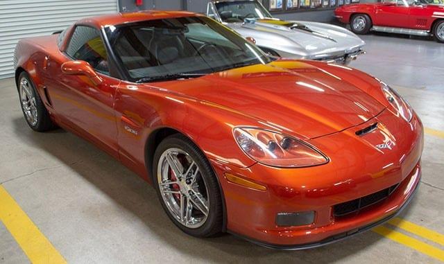 2006 Z06 Corvette Orange