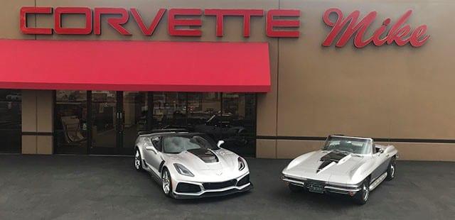 Corvette High Horsepower Stingrays