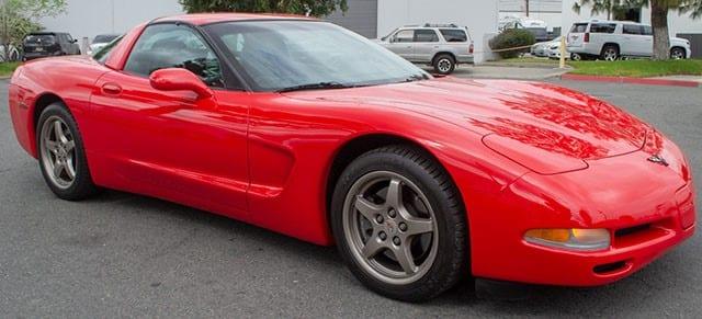 2001 California Corvette