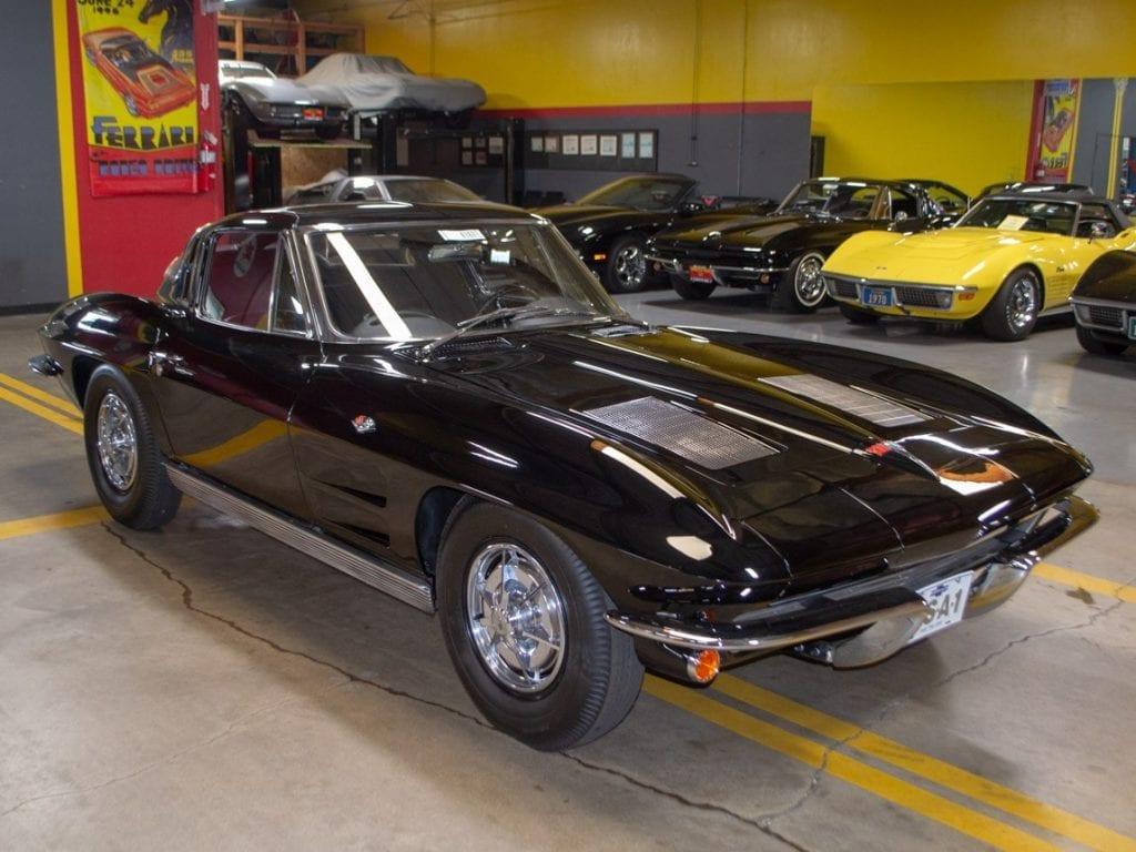 1963 Tuxedo Black Corvette Split Window Coupe