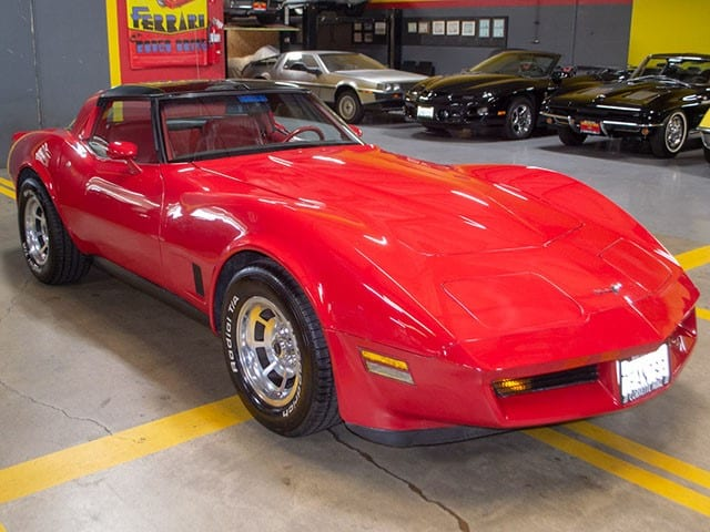1981 Corvette Coupe