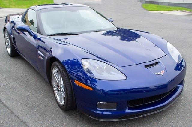 2006 Lemans Blue Corvette Zo6