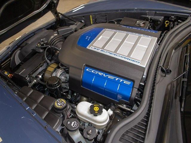 2011 Corvette Supersonic Blue eng