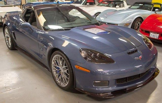 2011 Corvette Supersonic Blue