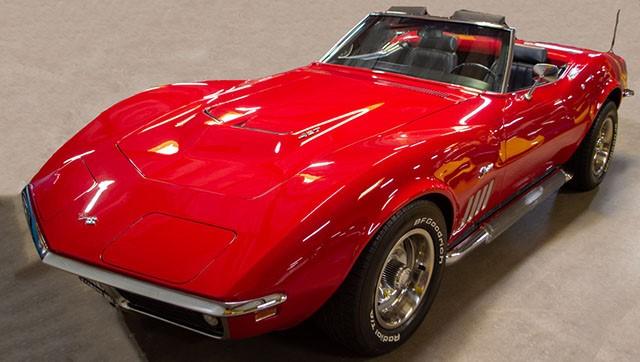 1969 L36 Convertible Corvette