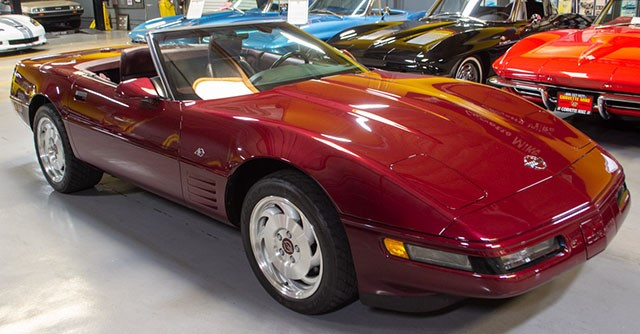 1993 Anniversary Edition Corvette Convertible