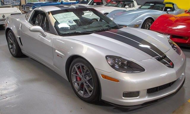 2009 ZO6 Silver Corvette
