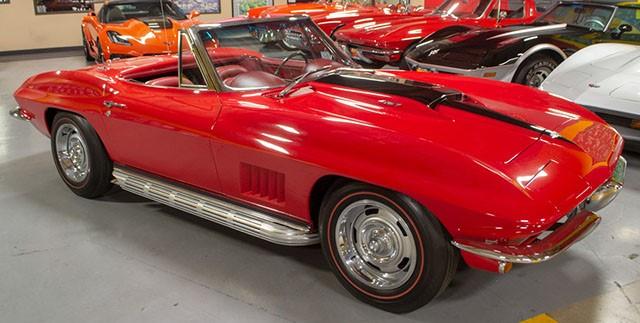 1967 L71 Corvette Convertible Red