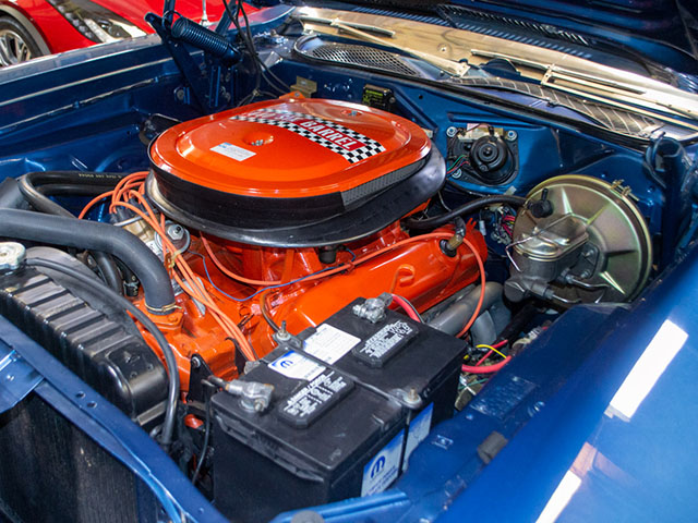 1971 Plymouth GTX Engine
