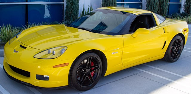 2007 Corvette Coupe Yellow