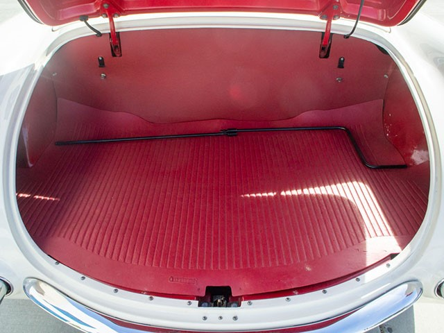 1955 Corvette Roadster trunk