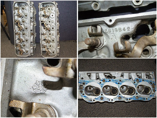 corvette factory cylinder heads
