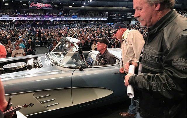 Barrett Jackson Corvette