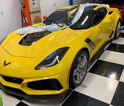 2019 Yellow Zr1