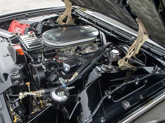 1962 Black Ford Thunderbird M Code Landau Hardtop Engine
