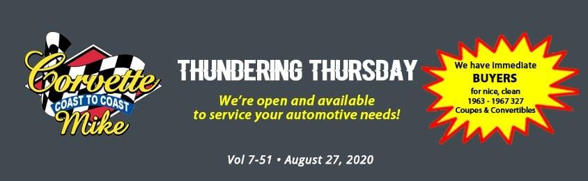 Thundering Thursday August27