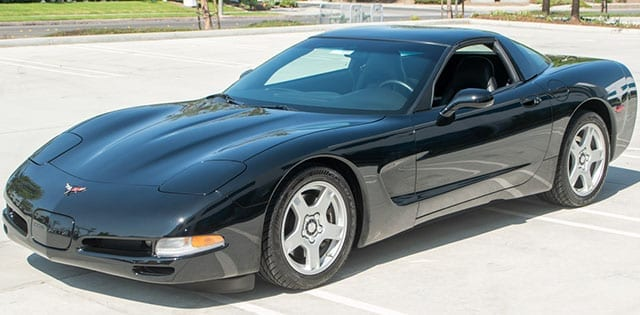1997 Black Corvette Coupe Coming 1