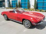 rally red corvette