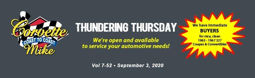 Thundering Thursday Sept 3