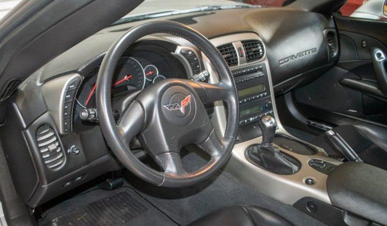 2005 Silver Corvette Coupe 0783