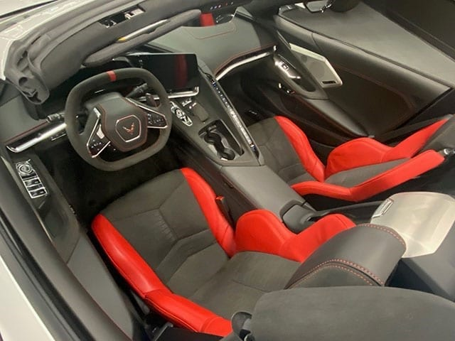 c8 interior changes