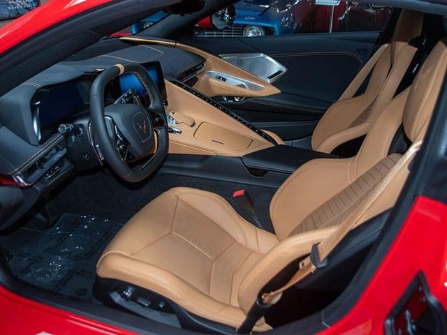 2020 red c8 corvette coupe 2lt z51 interior 1